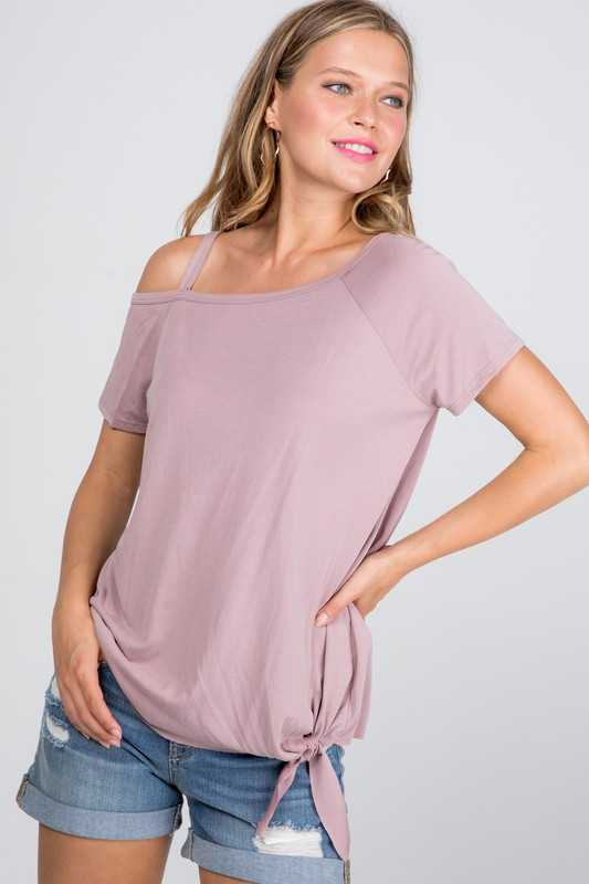 Luna One Shoulder Top
