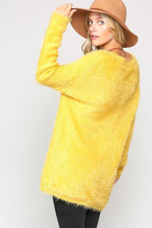 ULTRA SOFT FUZZY LOOSE FIT PULLOVER