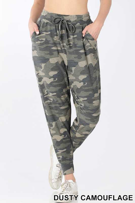 CAMOUFLAGE JOGGERS SWEATPANTS
