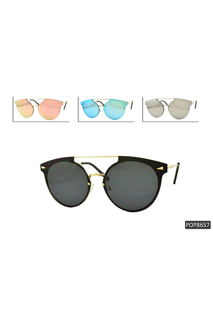 TIPPED FRAME SUNGLASSES