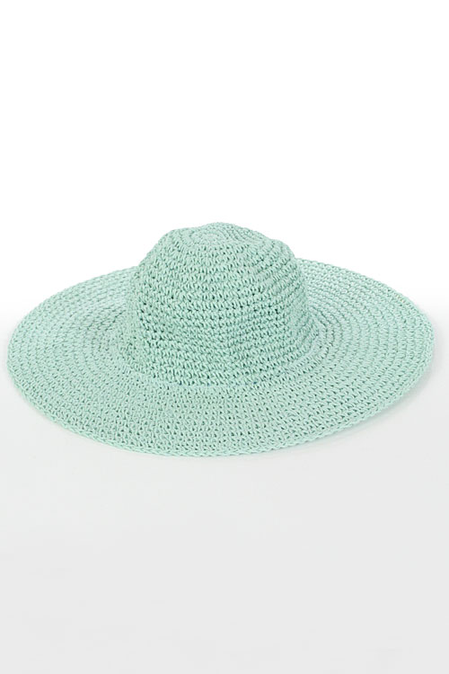 STRAW MILLINERY HAT