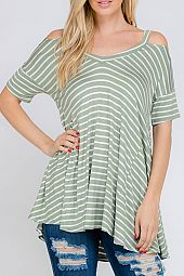 LOOSE FIT JERSEY TOP
