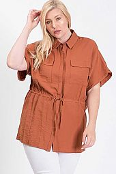 SOLID TUNIC SHIRT