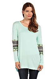 GANADO SEQUIN ACCENT TUNIC