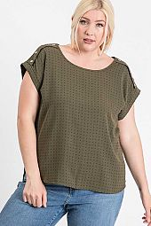 SHOULDER BUTTON TOP