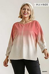 Ombre with Button Tab Panel Top