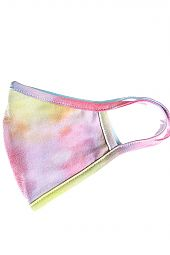 TIE DYE WASHABLE COTTON FACE MASK