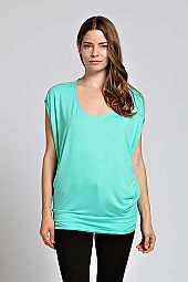 BASIC DOLMAN TUNIC TOP