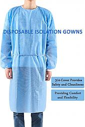 Disposable Isolation Gowns Protective Gowns