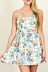 LOVELY GARDEN SUMMER DRESS