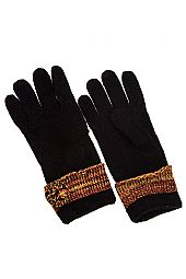 POM POM ACCENT KNIT GLOVE