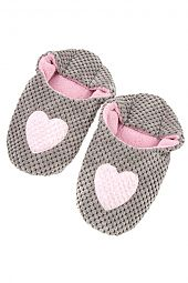 HEART ACCENT SLIPPER
