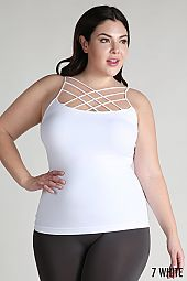 PLUS STRAPPY SEAMLESS CAMI TOP
