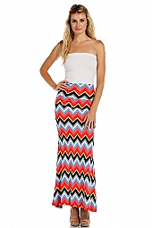 MISSONI PRINT BODYCON MAXI SKIRT