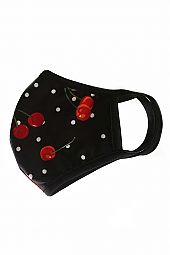 CHERRY REUSABLE FACE MASK
